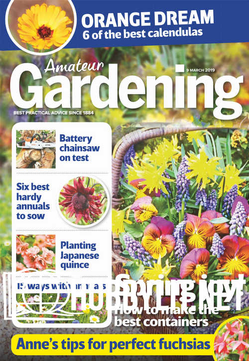 Amateur Gardening - 9 March 2019