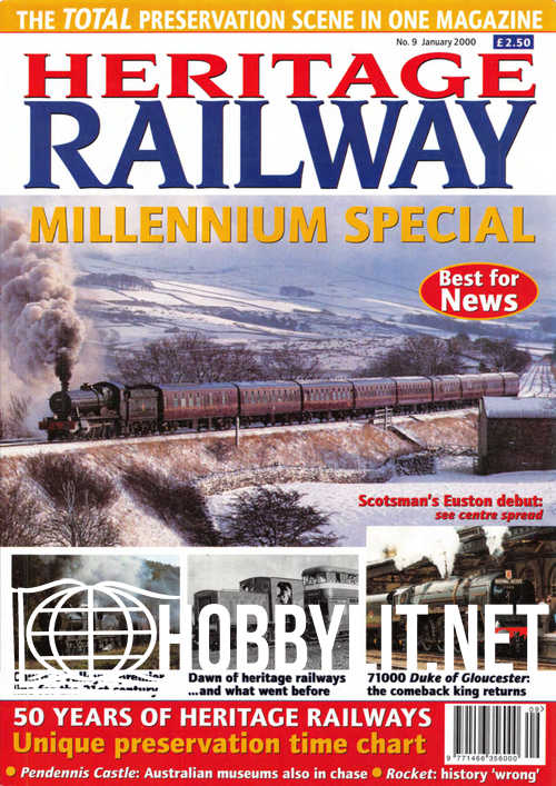 Heritage Railway Issue 009 - January 2000