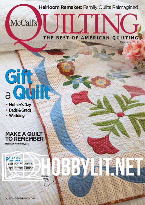McCall's Quilting – May/June 2019