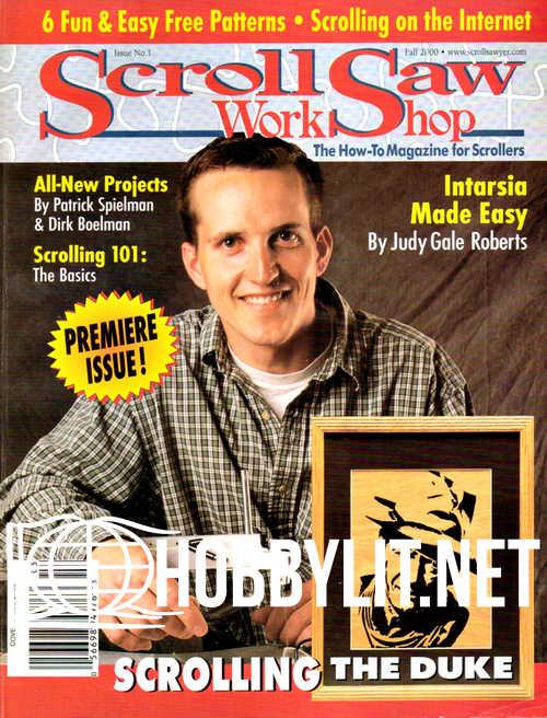 ScrollSaw Workshop Issue 001 - Fall 2000