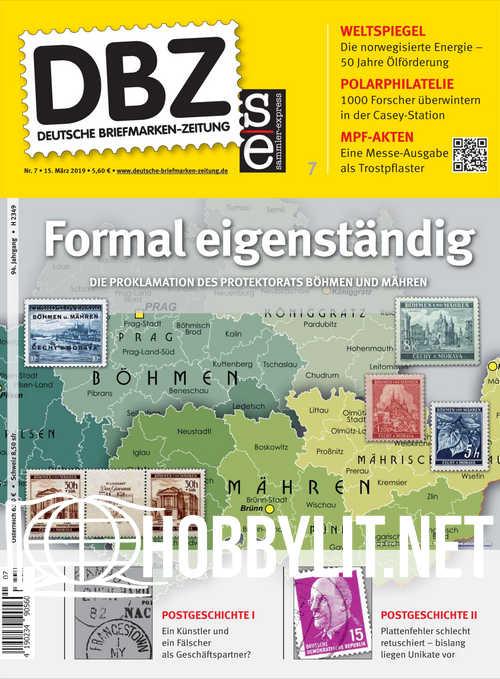 Deutsche Briefmarken-Zeitung 2019-07