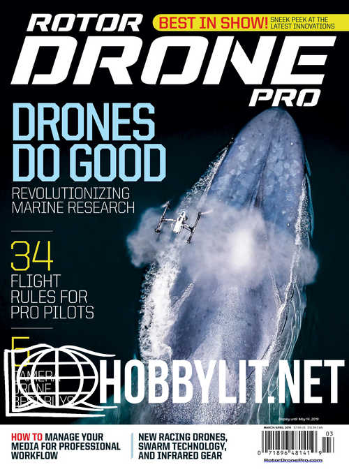 Rotor Drone Pro - March/April 2019