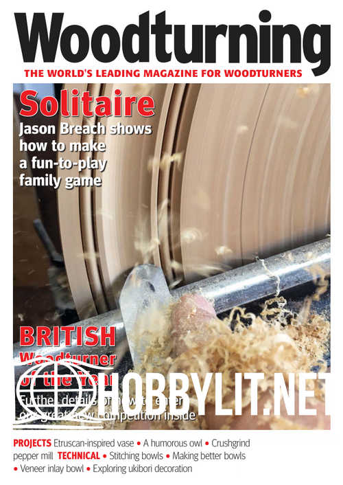 Woodturning - April 2019