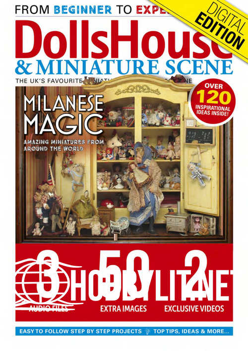 Dolls House and Miniature Scene - April 2019