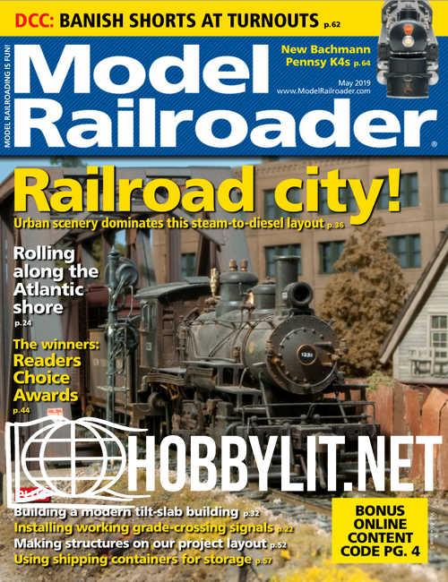 Model Railroader - May 2019