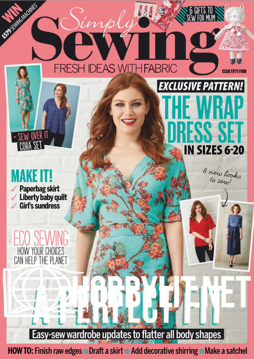 Simply Sewing Issue 54