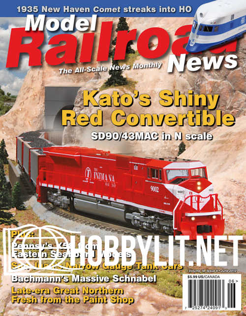 Model Railroad News - June 2012