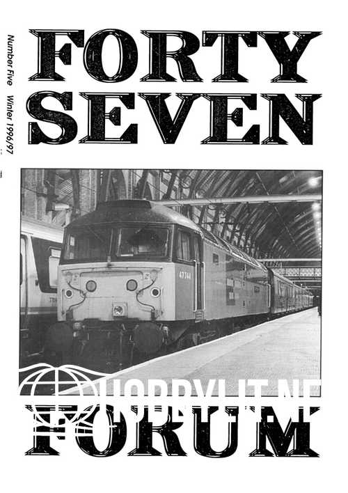 Forty Seven Forum Issue 005 - Winter 1996-97