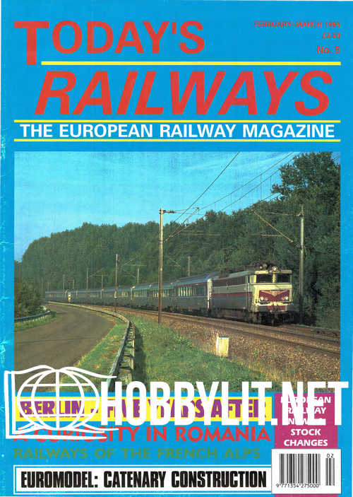 Today's Railways Europe 005 - February March 1995
