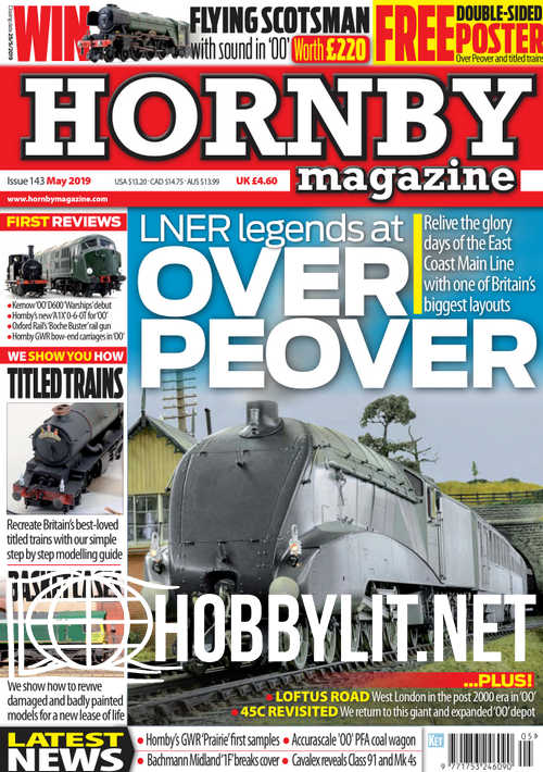 Hornby Magazine Issue 143 - May 2019
