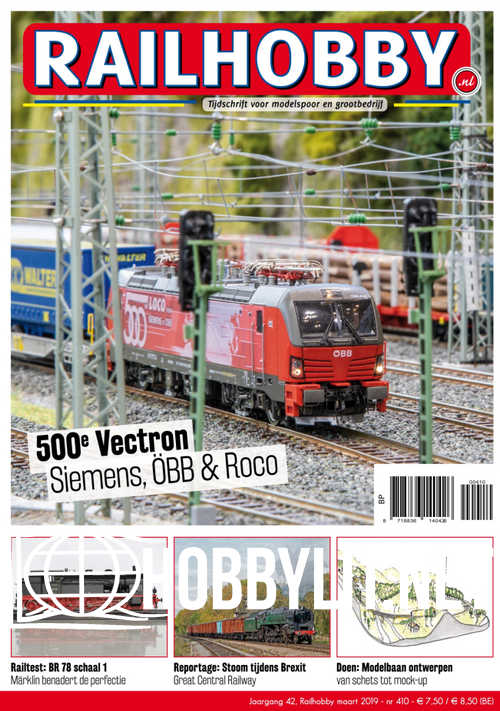 Railhobby Issue 410 - Maart 2019