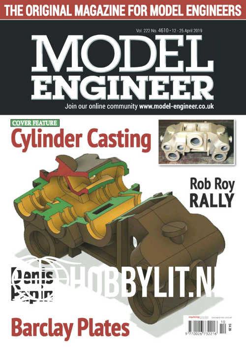 Model Engineer 4610 - 12 April 2019