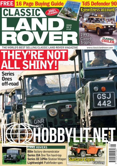 Classic Land Rover - May 2019