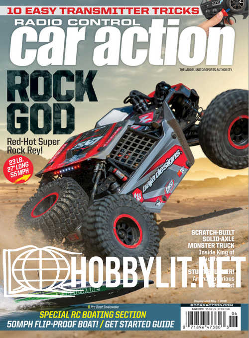 Radio Control Car Action - June 2019