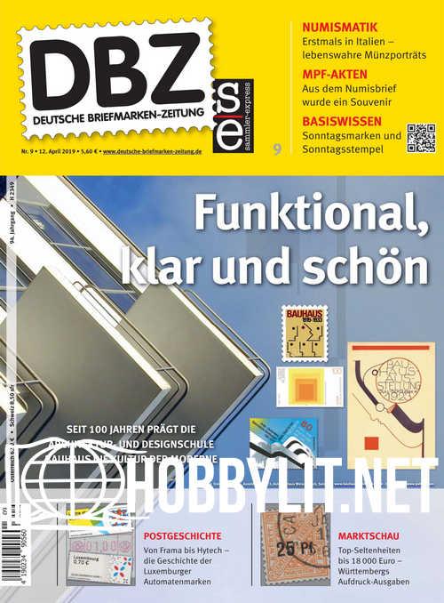 Deutsche Briefmarken-Zeitung 2019-09