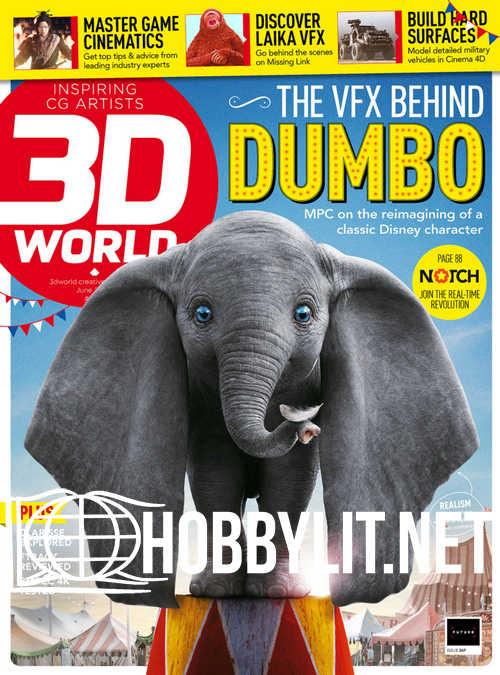 3D World Issue 247 - June 2019