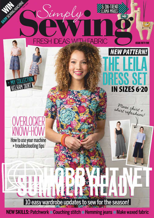 Simply Sewing Issue 55