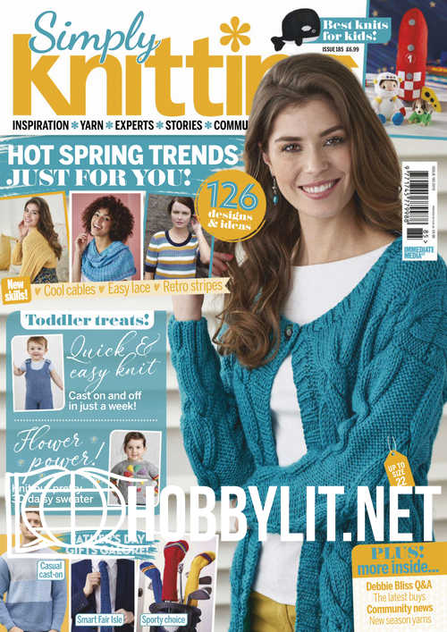 Simply Knitting Issue 185, 2019