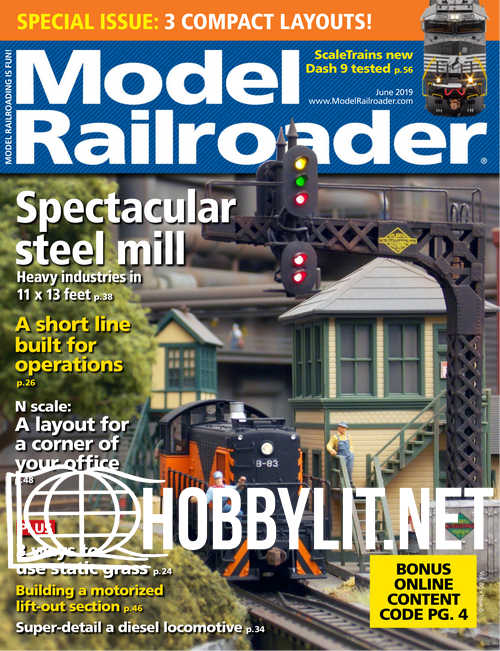 Model Railroader - June 2019