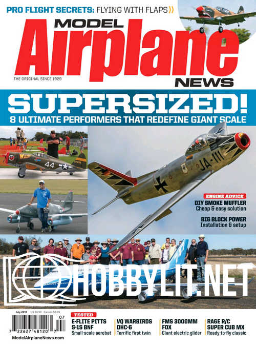 Model Airplane News - July 2019