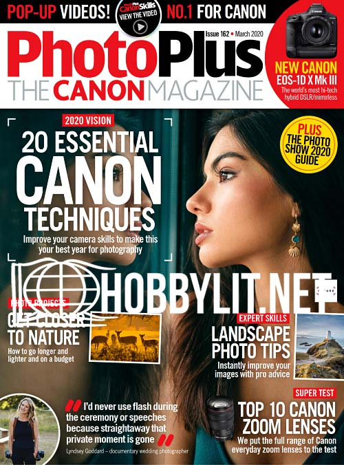 PhotoPlus: The Canon Magazine - March 2020