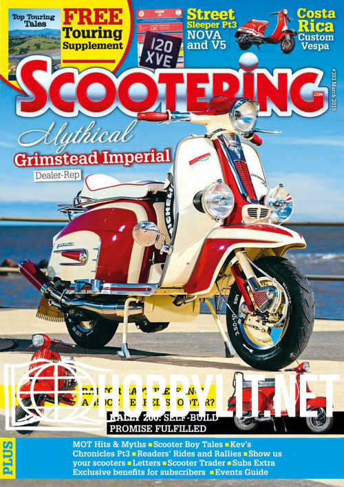 Scootering - March 2019
