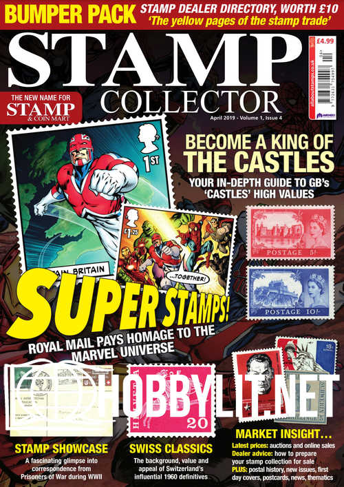 Stamp Collector - April 2019