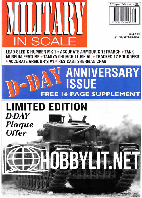 Military in Scale Issue 19 - June 1994