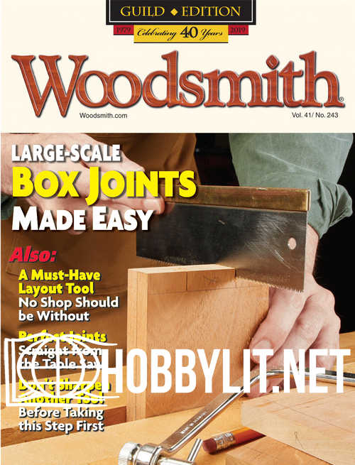 Woodsmith Issue 243 – June-July 2019