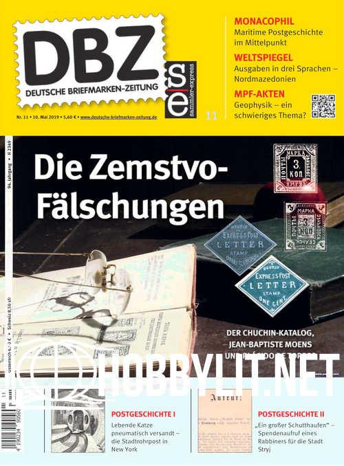 Deutsche Briefmarken-Zeitung 2019-11