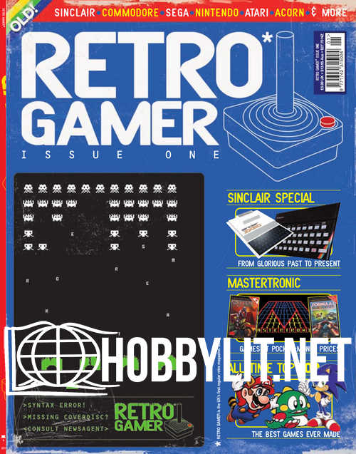 Retro Gamer Issue 001