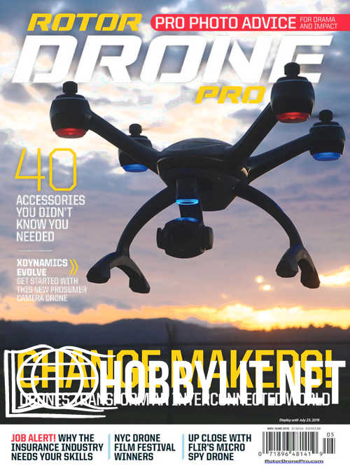 Rotor Drone Pro - May/June 2019
