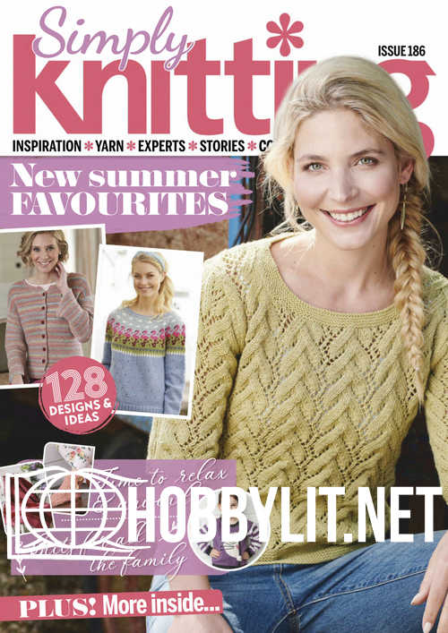Simply Knitting - Issue 186