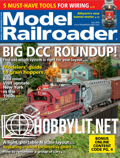 Model Railroader - July 2019