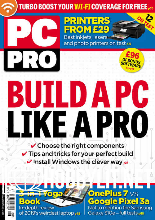 PC Pro - August 2019