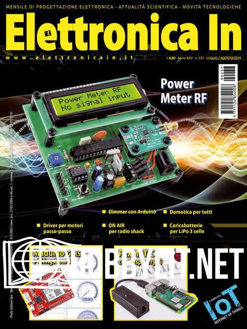 Elettronica In - Luglio/Agosto 2019