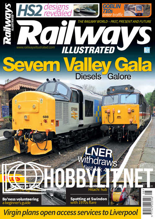 Railways Illustrated - August 2019
