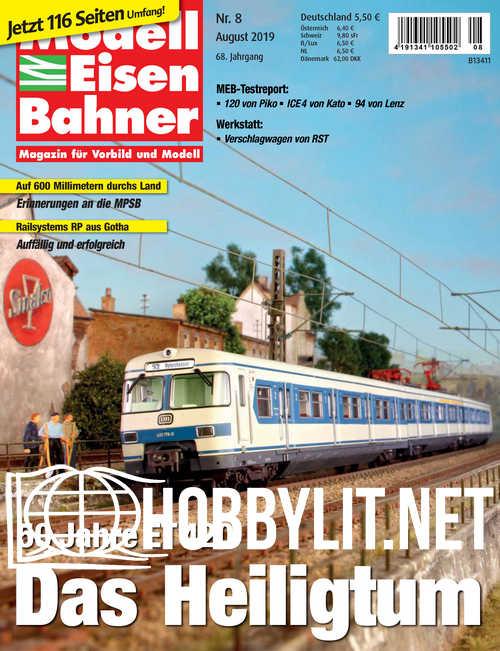ModellEisenBahner - August 2019