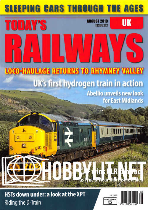 Today's Railways UK - August 2019