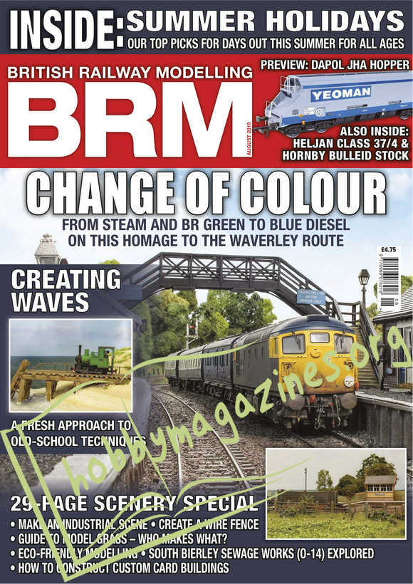 British Railway Modelling - August 2019
