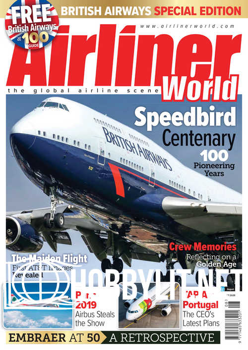 Airliner World - August 2019