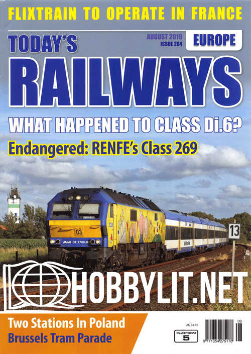 Today's Railways Europe - August 2019