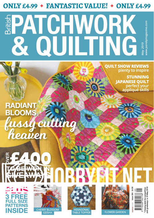 Patchwork & Quilting - May 2019