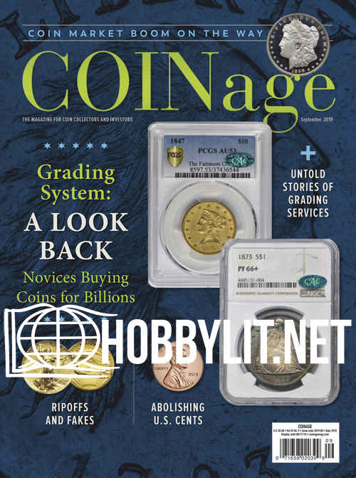 COINage – September 2019