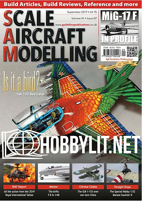 Scale Aircraft Modelling - September 2019