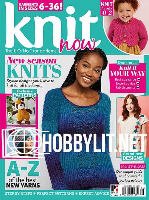 Knit Now Issue 106, 2019