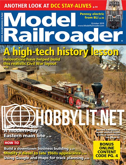Model Railroader - October 2019