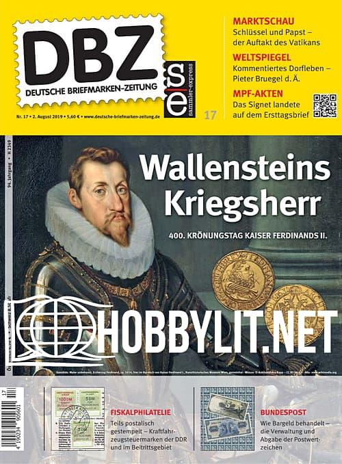 Deutsche Briefmarken-Zeitung 2019-17