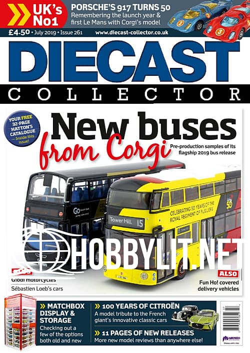 Diecast Collector July 2019