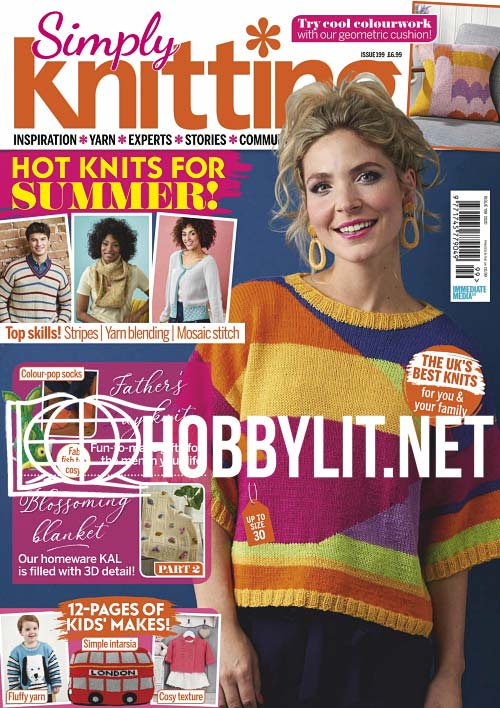 Simply Knitting Issue 199
